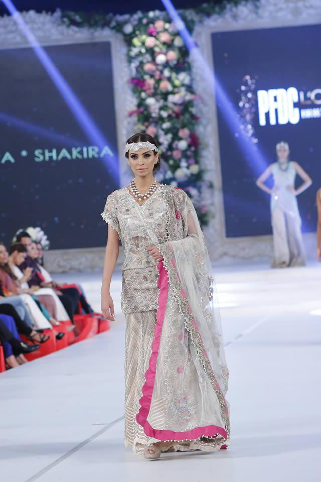 PFDC Loreal Paris Bridal Week 2015 Saira Shakira Dresses Collection Photo Gallery