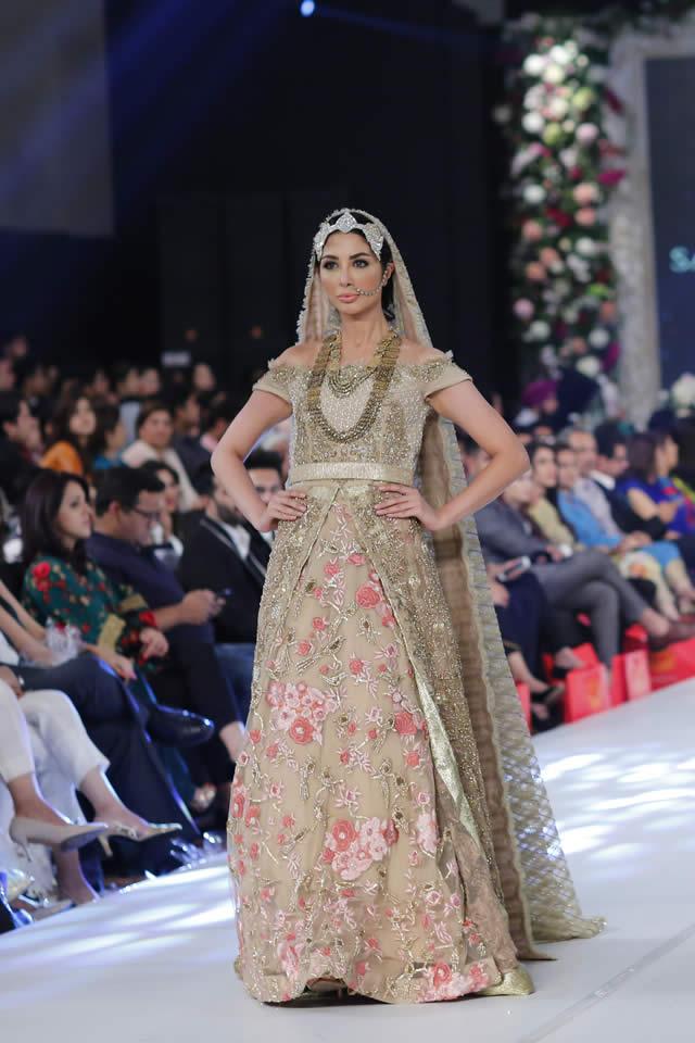 2015 PFDC Loreal Paris Bridal Week Saira Shakira Dresses Gallery