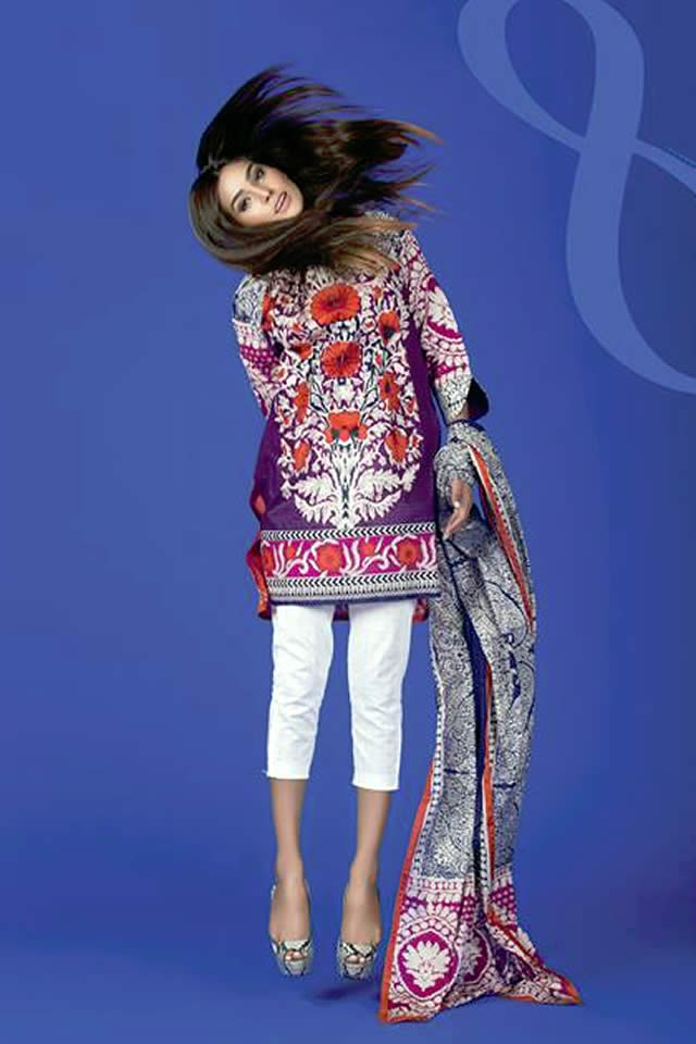 72b65f7df9 2016 Sana Safinaz Summer Lawn collection Pictures – Fashion Central