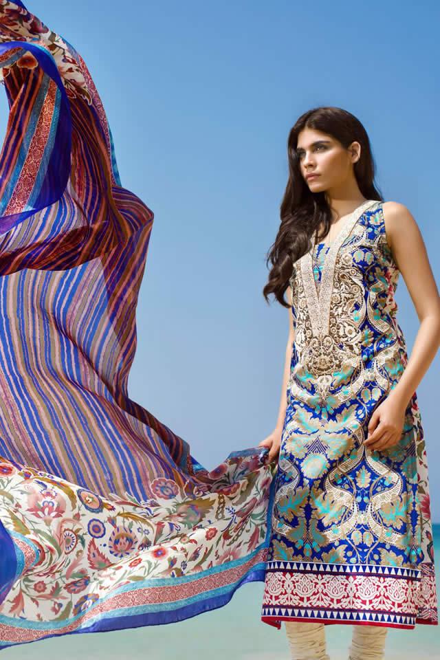 Sana Safinaz 2015 Lawn Collection