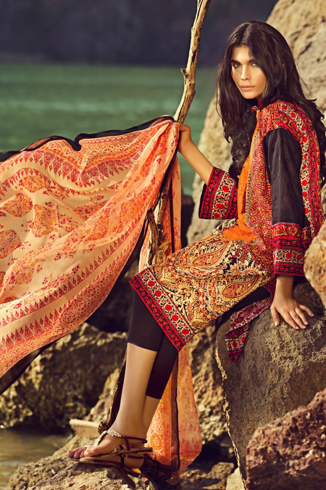 Sana Safinaz Spring Summer 2015 Lawn Collection