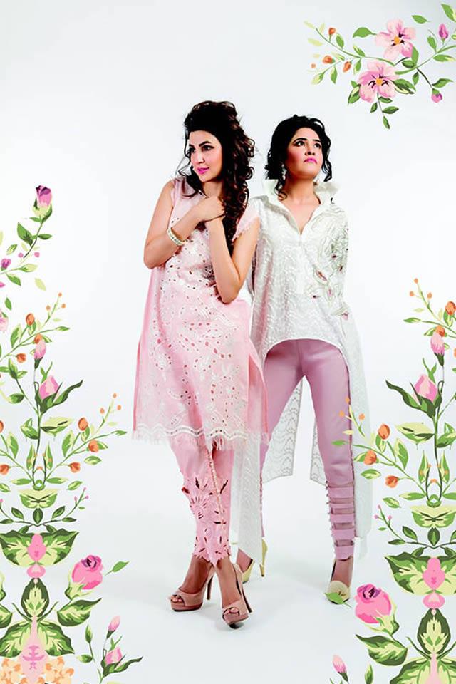 Sanam Chaudhri Eid Collection 2015 Pics