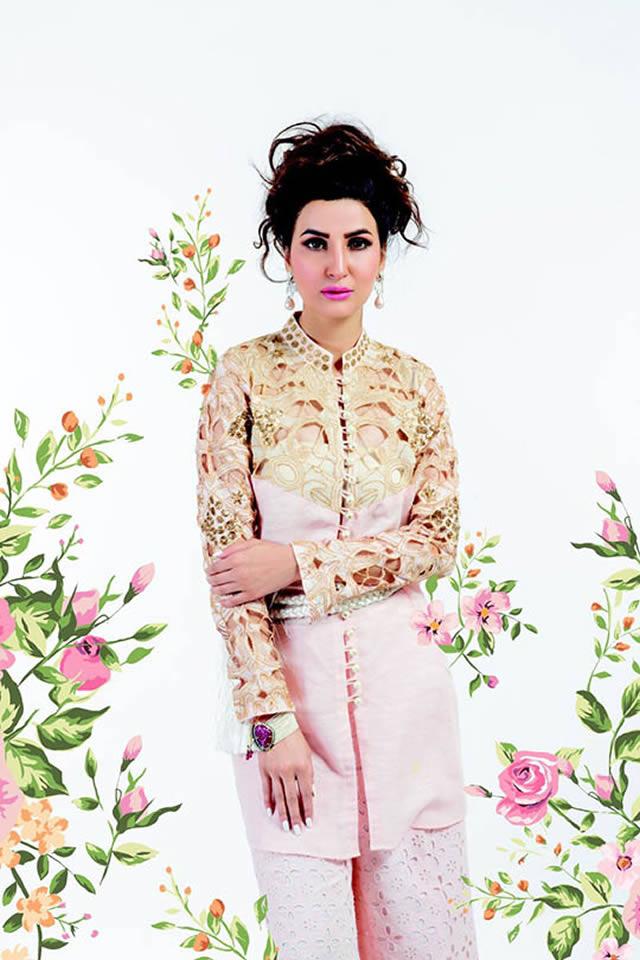 Sanam Chaudhri Eid Collection 2015 Pictures