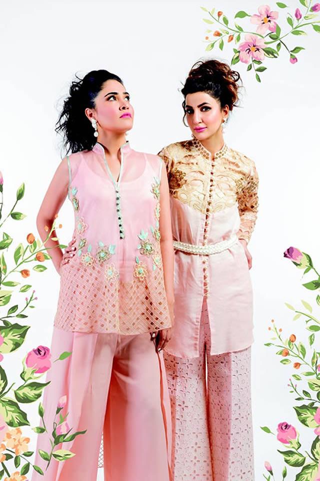Sanam Chaudhri Eid Collection 2015 Gallery
