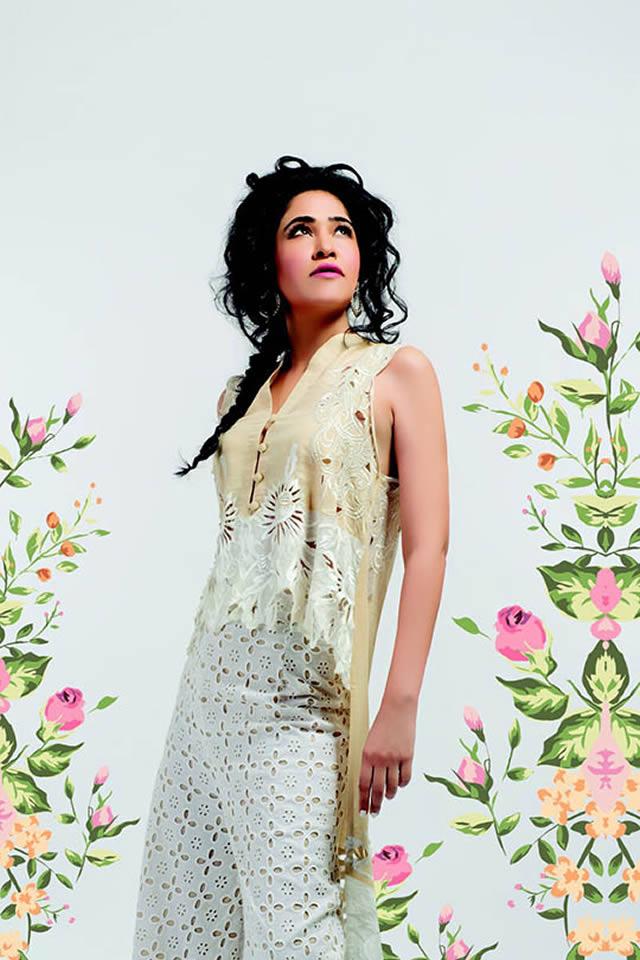Sanam Chaudhri Eid Dresses Collection 2015