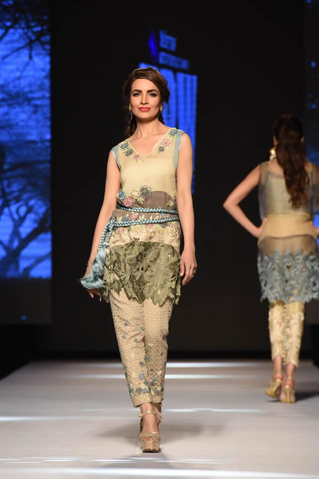 Telenor Fashion Pakistan Week Sanam Chaudhri Collection Pics