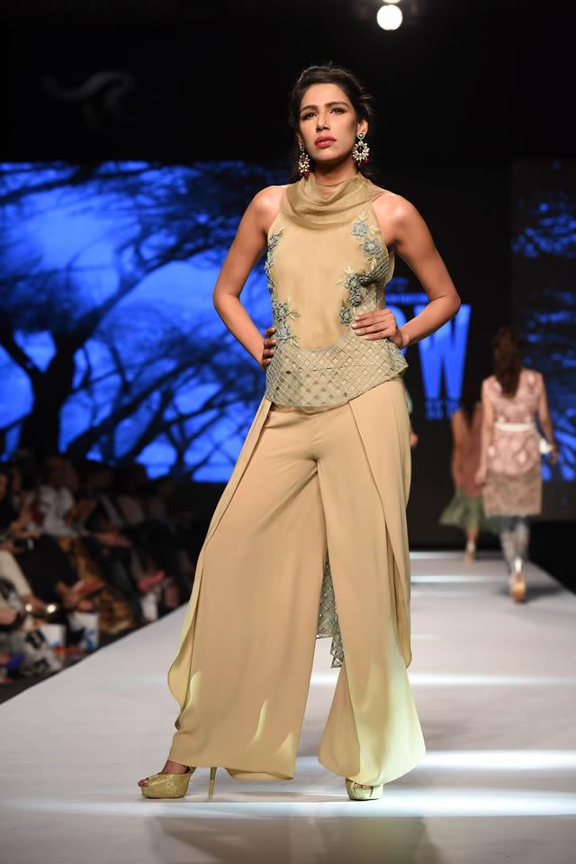 Fashion Designer Sanam Chaudhri Telenor Fashion Pakistan Week Collection