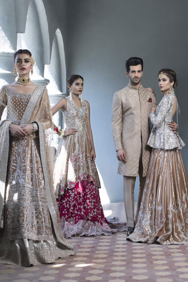 Sania Maskatiya Bridal Dresses collection 2016 Pictures