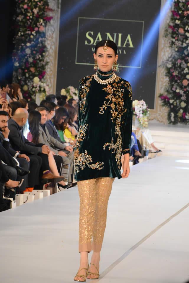 Fashion Designer Sania Maskatiya Collection Pfdc Loreal Paris Bridal Week 2015 Gallery Fashion Central