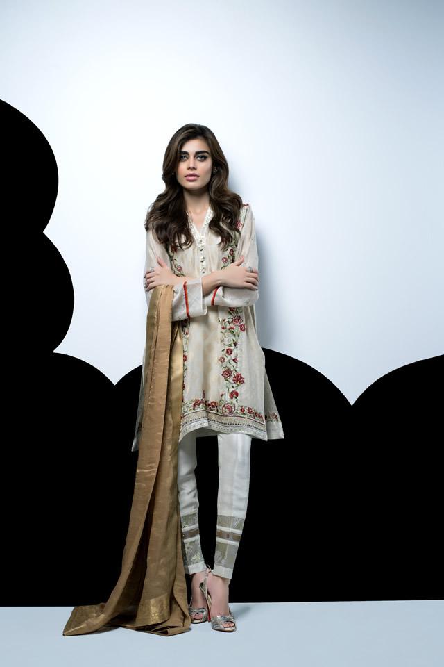 2016 Sania Maskatiya Eid Dresses collection Pics