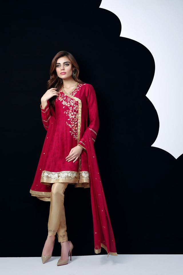 Sania Maskatiya Eid Dresses collection 2016 Images