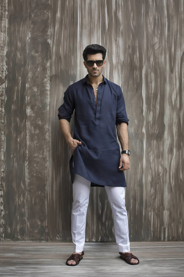 Sania Maskatiya Menswear Eid Dresses collection 2016 Pictures