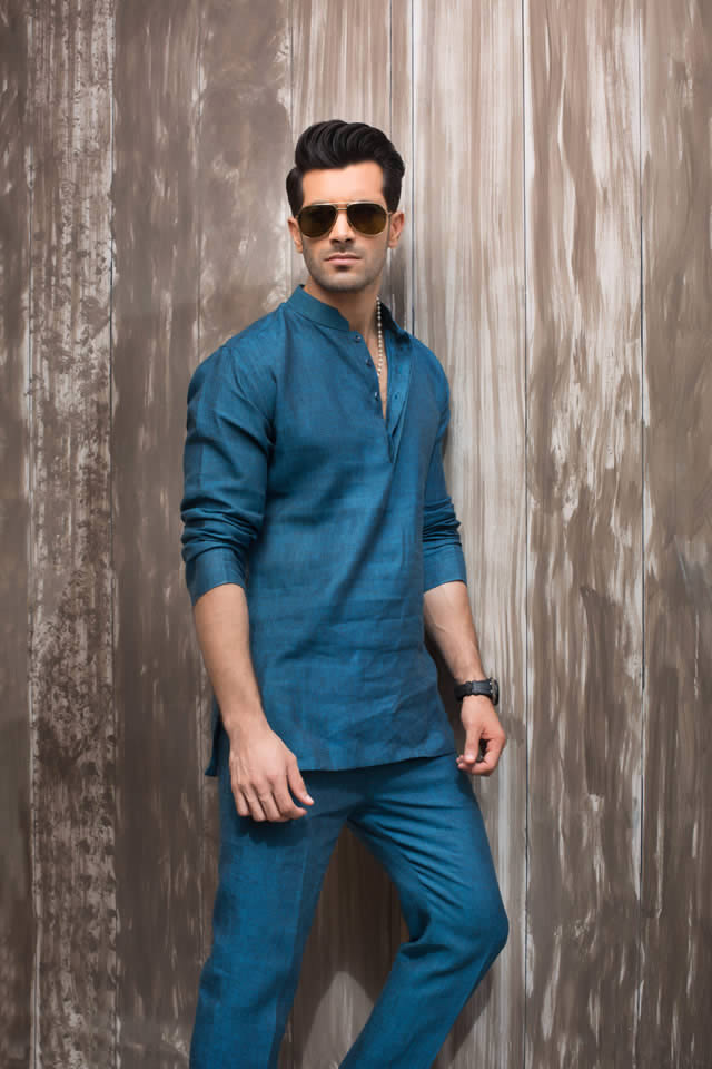 Sania Maskatiya Menswear Eid collection 2016 Photos