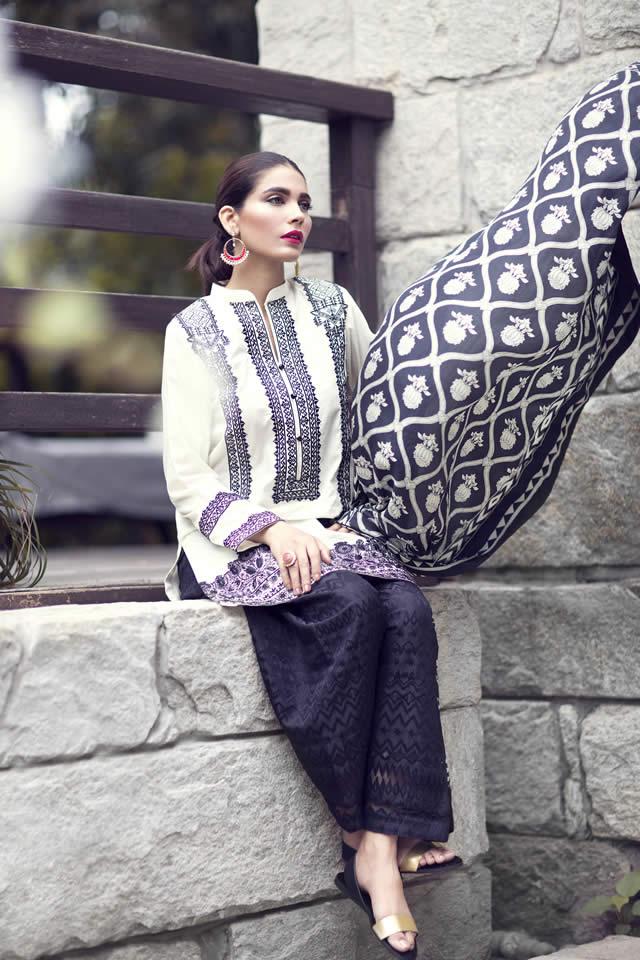 Sapphire Eid Dresses collection 2016 Pics
