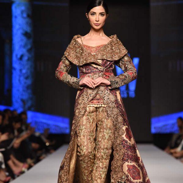 Shamaeel Ansari Dresses at Telenor Fashion Pakistan Week 2015