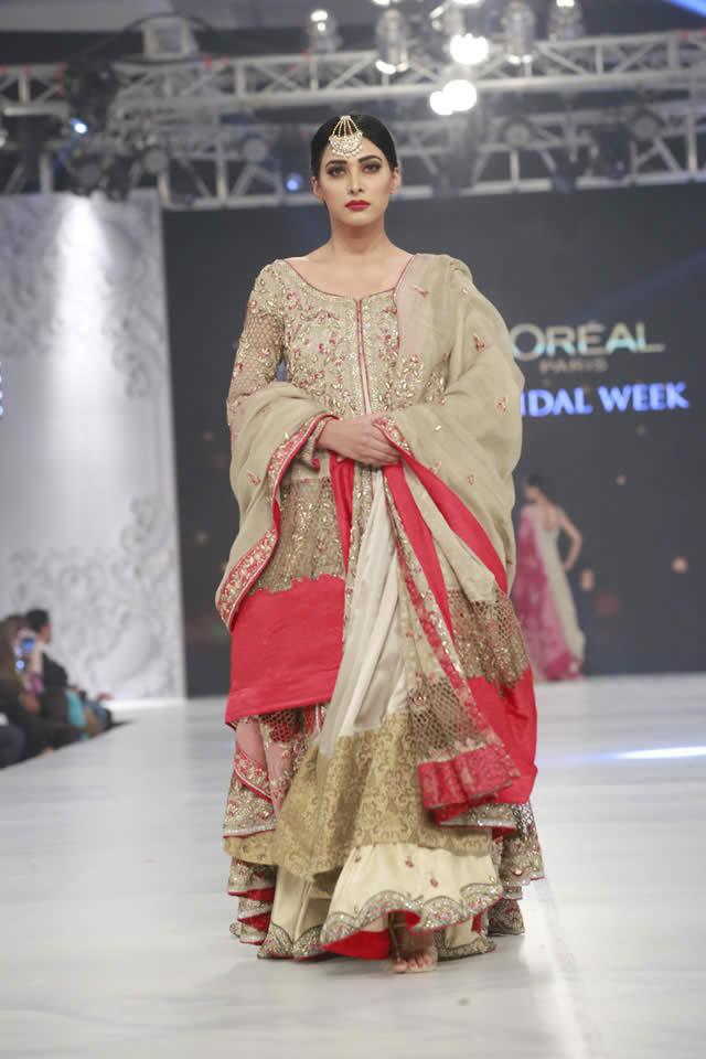Shamsha Hashwani Dresses PFDC Loreal Paris Bridal Week 2016 Images