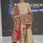 2016 PFDC Loreal Paris Bridal Week Shamsha Hashwani Dresses Collection Photos