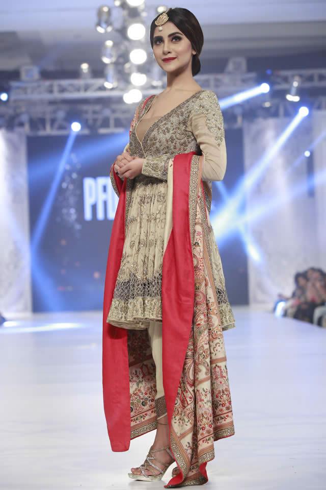 Shamsha Hashwani Bridal Dresses PLBW 2016