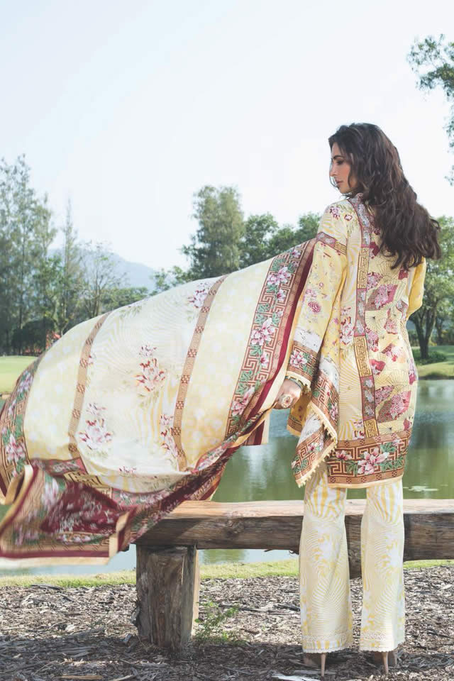 Shehla Chatoor Summer Lawn Dresses collection 2016 Photos