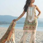2016 Shehla Chatoor Summer Lawn collection