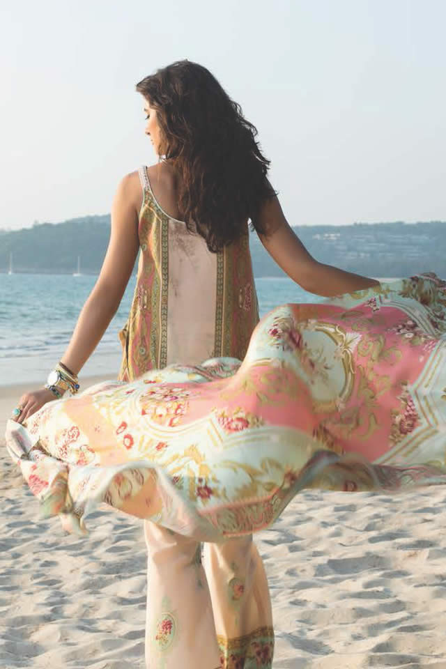 2016 Shehla Chatoor Summer Lawn collection Pics