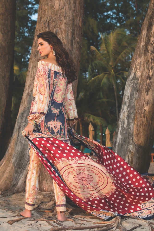 2016 Shehla Chatoor Summer Lawn collection Photos
