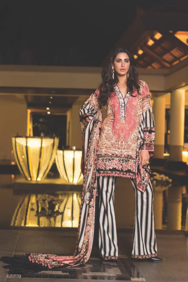 2016 Shehla Chatoor Summer Lawn collection Gallery