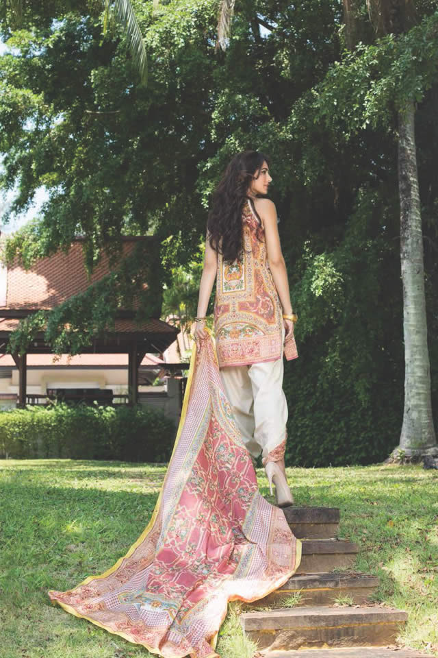 2016 Shehla Chatoor Summer Lawn Dresses collection Images