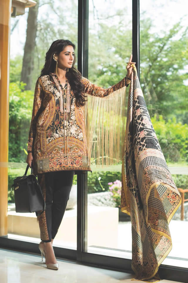 Shariq Textiles Summer Lawn Dresses collection 2016 Pictures