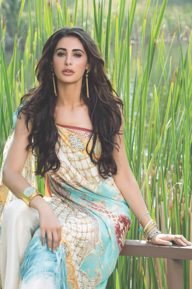 Shariq Textiles Summer Lawn Dresses collection 2016 Photos