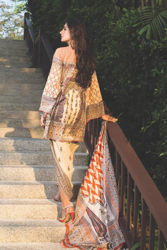 2016 Shariq Textiles Summer Lawn collection Pictures