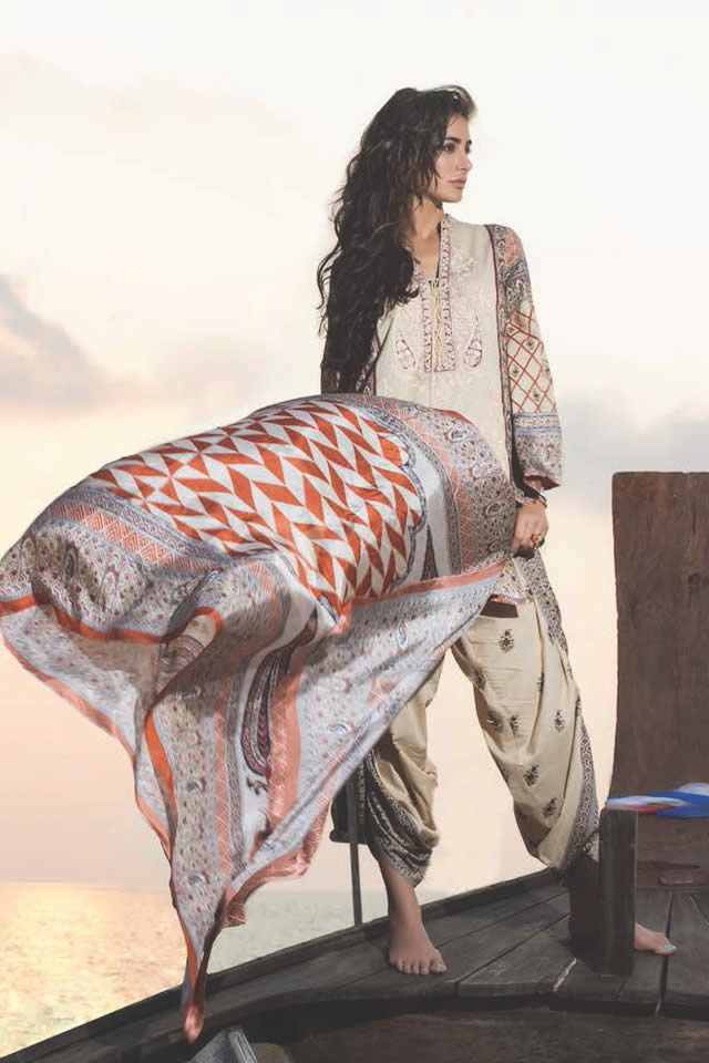 2016 Shariq Textiles Summer Lawn collection Photos