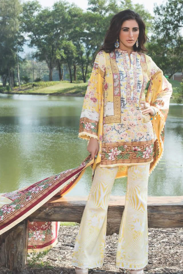 Shehla Chatoor Summer Lawn Dresses collection 2016 Pictures