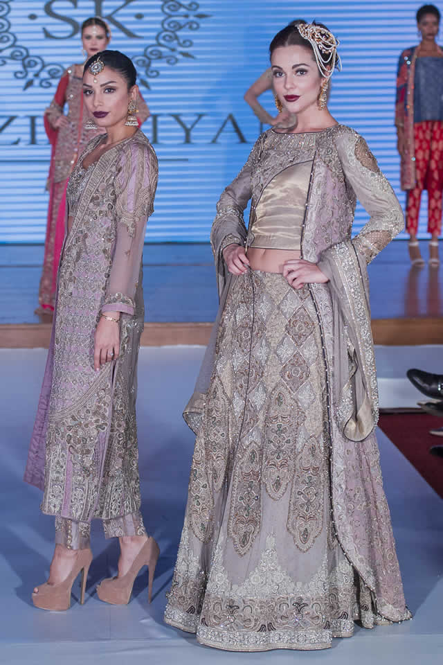 Shazia Kiyani Dresses Pakistan Fashion Week 8 London 2015 Images
