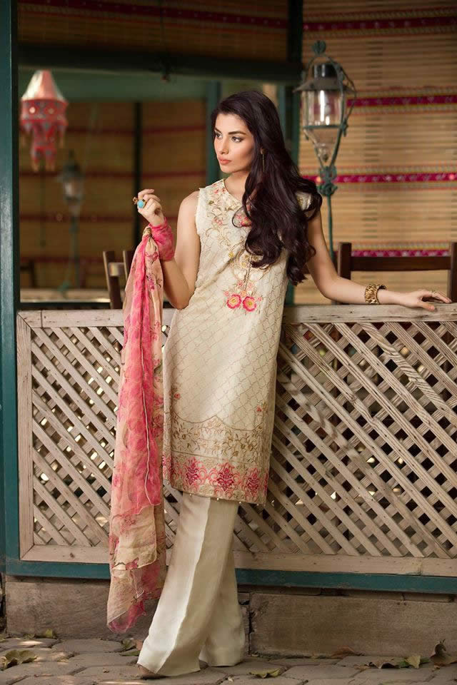 So Kamal Summer Chiffon Dresses collection 2016 Pictures