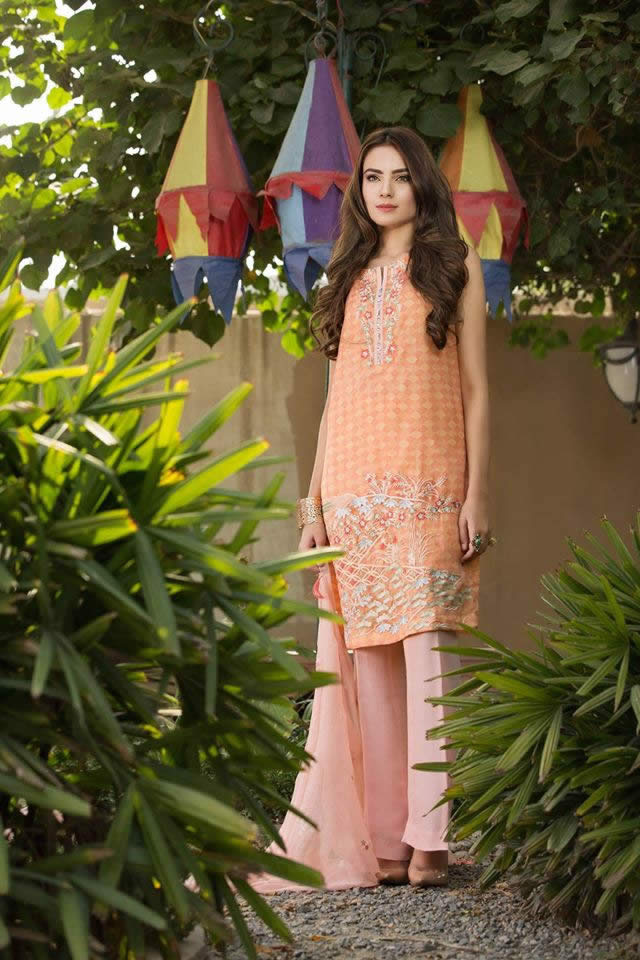 So Kamal Summer Chiffon Dresses collection 2016 Images
