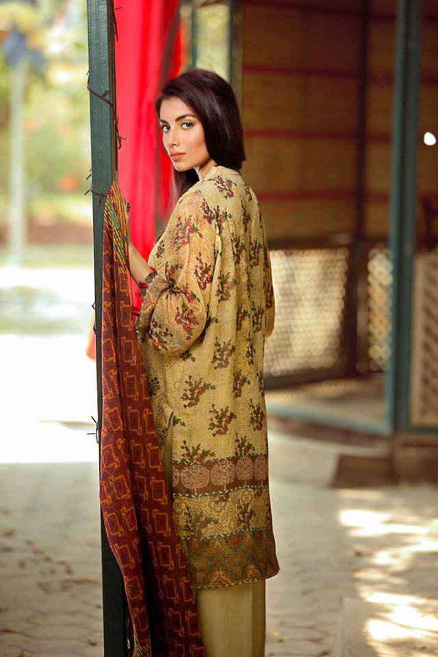 So Kamal Chiffon Dresses collection 2016 Pictures