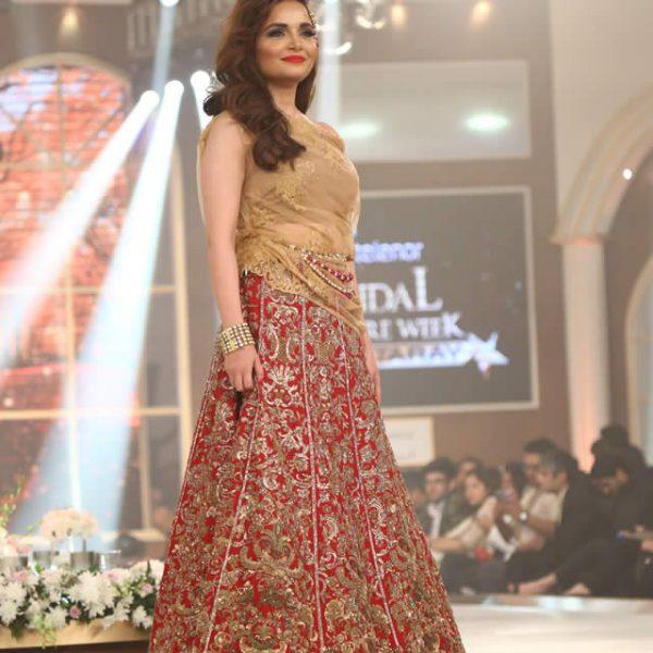 Sobia Nazir Bridal Dresses at TBCW 2015