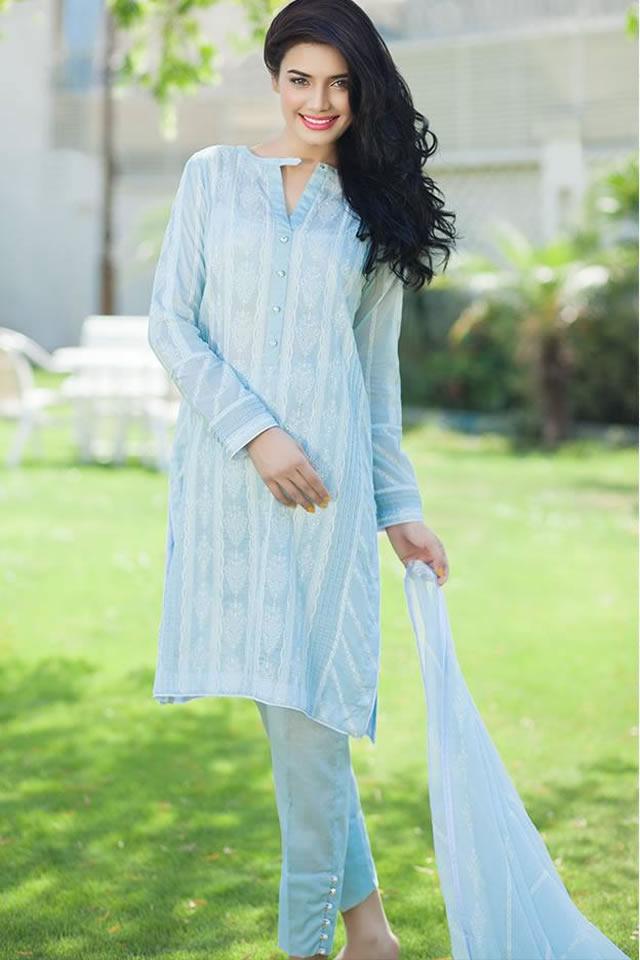Summer Eid Dresses 2015 Taana Baana