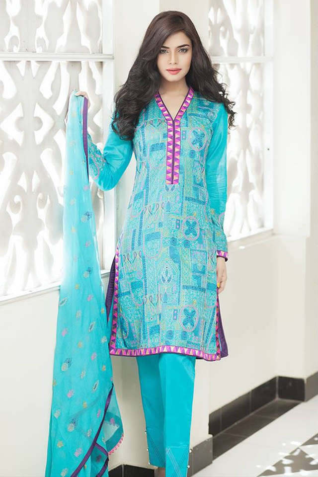 5eb7223058 Taana Baana Summer Eid Dresses Collection 2015