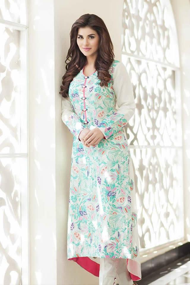 2015 Summer Eid Dresses Taana Baana Dresses Collection Photos
