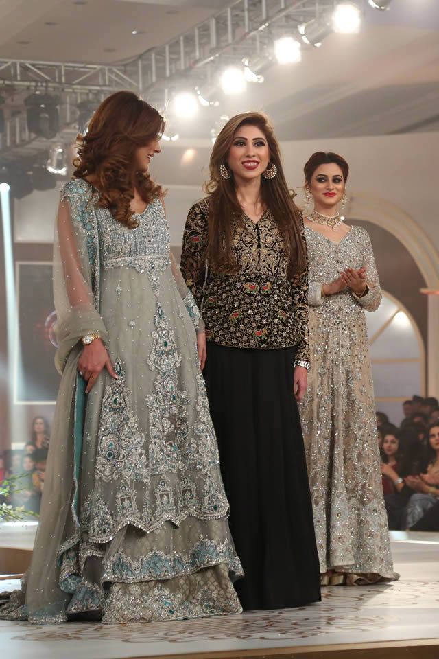 Bridal Couture Week 2015 Teena by Hina Butt Dresses Gallery