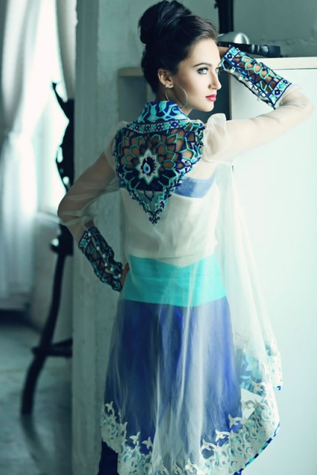 Exclusive 2015 Teena by Hina Butt Dresses Collection Photo Gallery