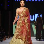 2015 Fashion Pakistan Week W/F Tena Durrani Formal Dresses Pics