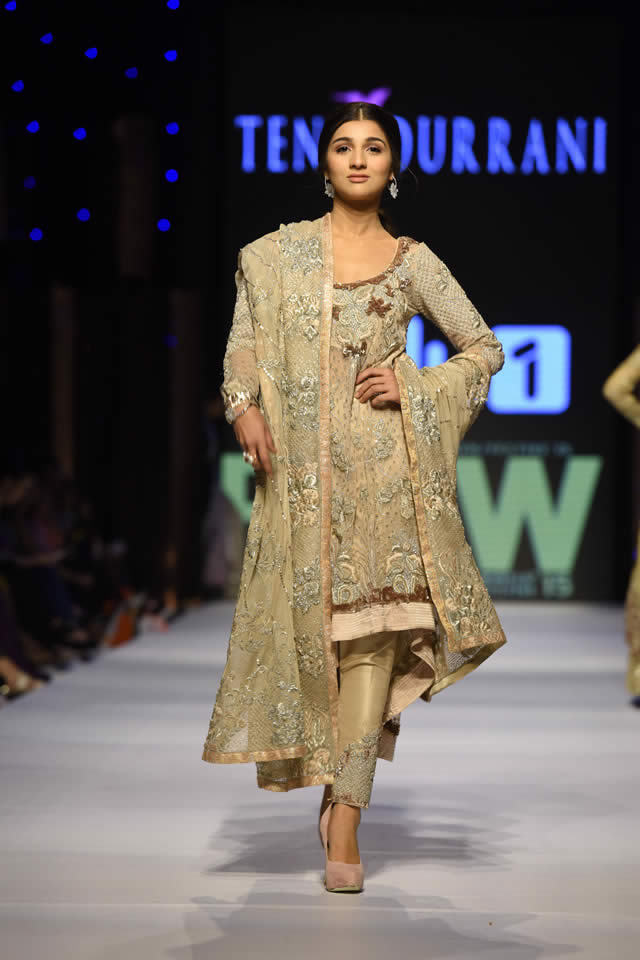 2015 Fashion Pakistan Week W/F Tena Durrani Formal Collection Pictures