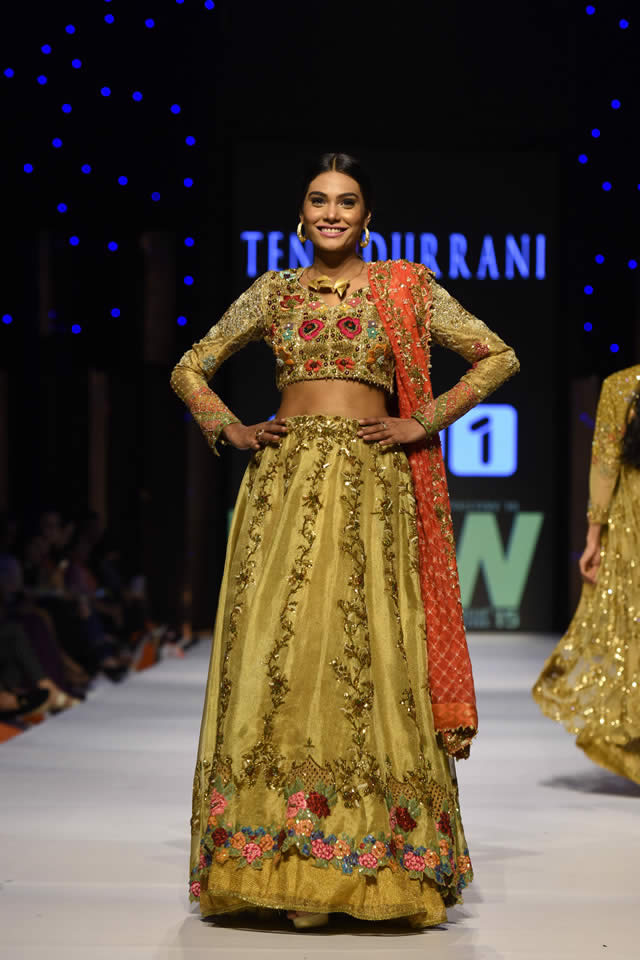 2015 Fashion Pakistan Week W/F Tena Durrani Dresses Gallery