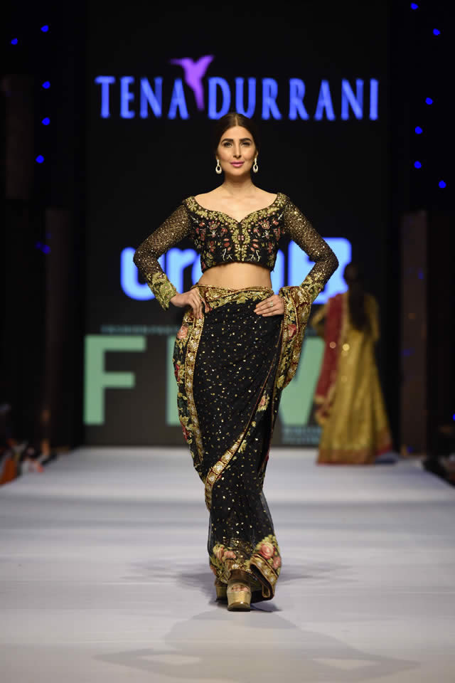 2015 Fashion Pakistan Week W/F Tena Durrani Collection Photo Gallery