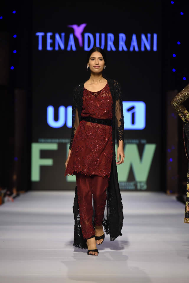 2015 Fashion Pakistan Week W/F Tena Durrani Latest Dresses Picture Gallery