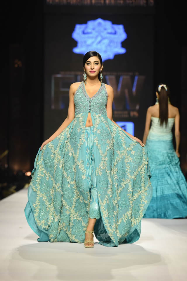 2015 Umar Sayeed Dresses Collection Images