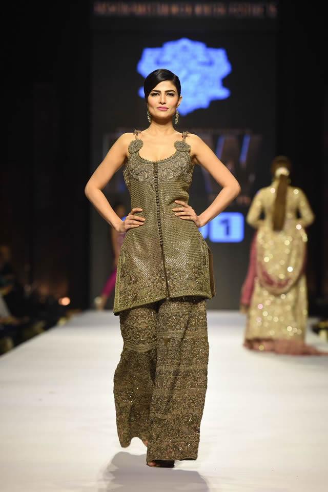 2015 FPW Umar Sayeed Dresses Collection Photos